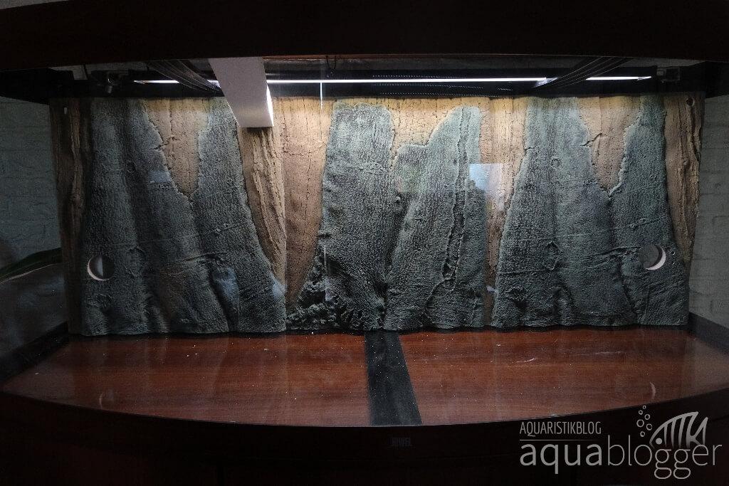 Slime-LIne Aquarienrückwand frei stehend